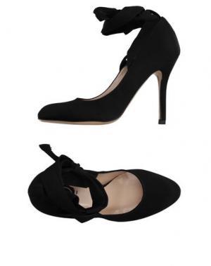Туфли LISA C BIJOUX. Цвет: черный