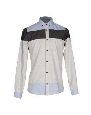 Pубашка GNIOUS. Цвет: светло-серый