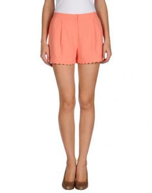 Повседневные шорты EMMA COOK. Цвет: лососево-розовый