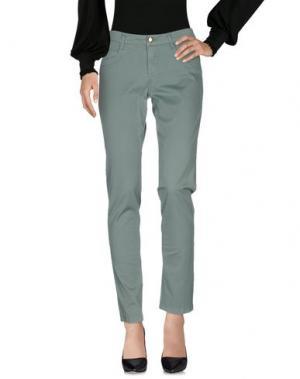 Повседневные брюки DEKKER. Цвет: зеленый