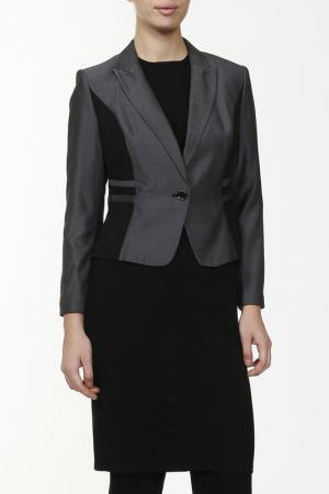 Жакет Marks & Spencer. Цвет: серый