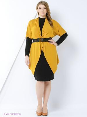 Комплект одежды Amelia Lux. Цвет: желтый, черный