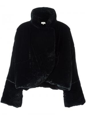 Oversized standing collar jacket Isa Arfen. Цвет: синий