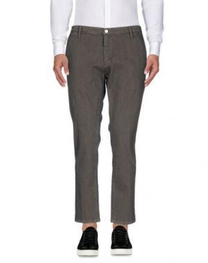 Повседневные брюки SSEINSE. Цвет: свинцово-серый