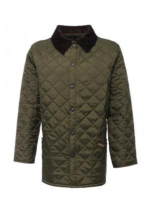 Куртка утепленная Barbour. Цвет: хаки