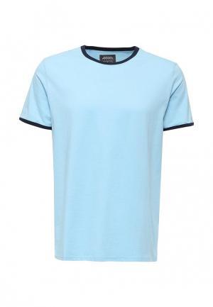 Футболка Burton Menswear London. Цвет: голубой