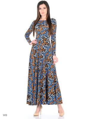 Длинное платье Электрик ANASTASIA PETROVA