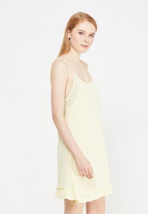 Сорочка ночная OVS. Цвет: желтый