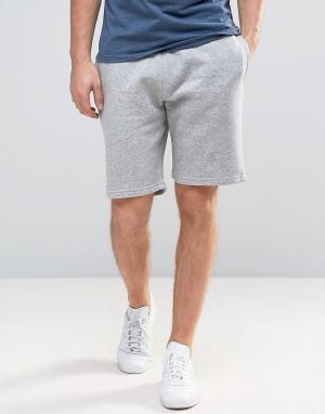 New Look Серые трикотажные шорты. Цвет: серый