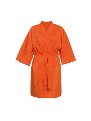 Халат PELICAN. Цвет: оранжевый