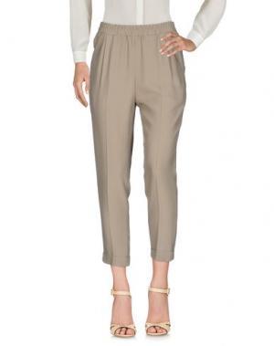 Повседневные брюки BALLANTYNE. Цвет: хаки