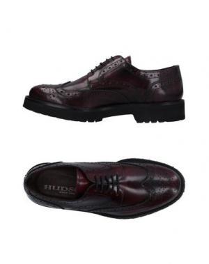 Обувь на шнурках HUDSON. Цвет: баклажанный
