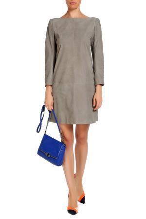 Платье Izeta. Цвет: серый