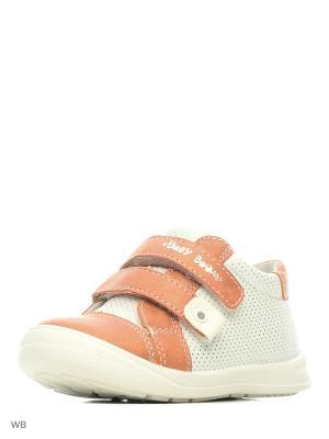 Ботинки San Marko. Цвет: коралловый, белый