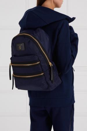 Текстильный рюкзак синий Marc Jacobs. Цвет: синий