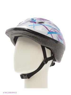 Шлем Re:action. Цвет: белый, черный, фиолетовый