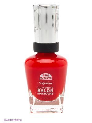 Лак для ногтей Sally Hansen Salon Manicure, тон 554. Цвет: красный