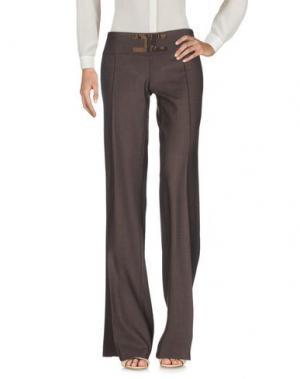 Повседневные брюки CELYN B.. Цвет: темно-коричневый