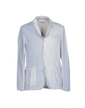 Пиджак COOPERATIVA PESCATORI POSILLIPO. Цвет: небесно-голубой