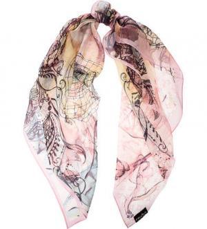 Легкий платок из шелка FRAAS. Цвет: розовый