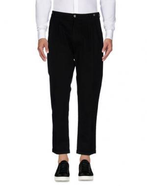 Повседневные брюки MASON'S. Цвет: черный