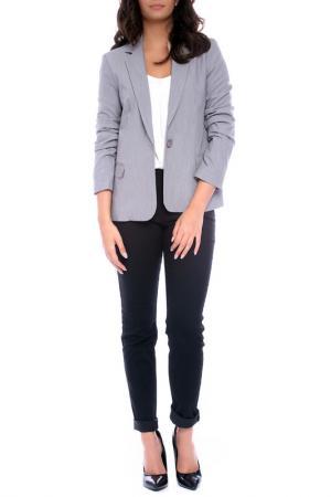 Жакет Emma Monti. Цвет: серый