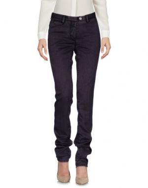 Повседневные брюки PIATTO. Цвет: фиолетовый
