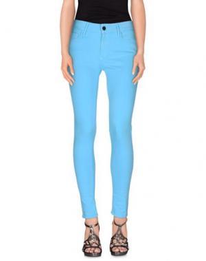 Джинсовые брюки BLACK ORCHID. Цвет: лазурный