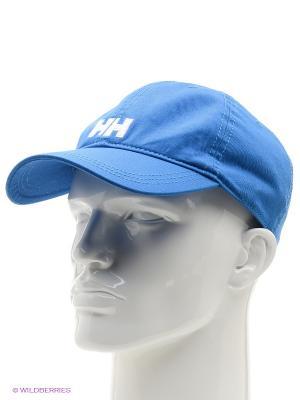 Бейсболка Helly Hansen. Цвет: голубой