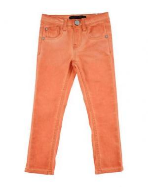 Джинсовые брюки IKKS. Цвет: оранжевый