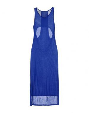 Платье до колена SILENT DAMIR DOMA. Цвет: синий