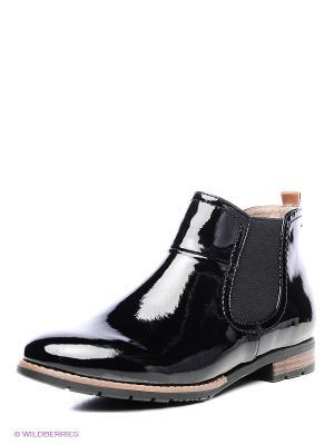 Ботинки Jana. Цвет: черный