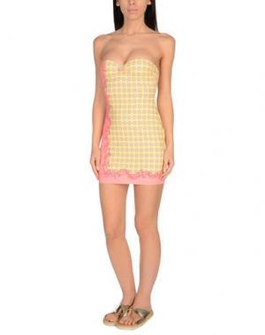 Пляжное платье VDP BEACH. Цвет: желтый