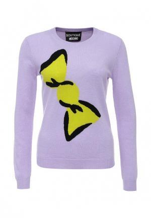 Джемпер Boutique Moschino. Цвет: фиолетовый