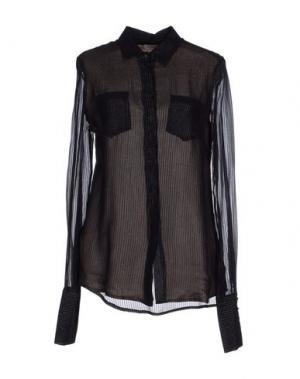 Pубашка ROŸ ROGER'S. Цвет: черный