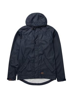 Куртка POLE JAM RUBBERIZED (FW17) BILLABONG. Цвет: темно-синий