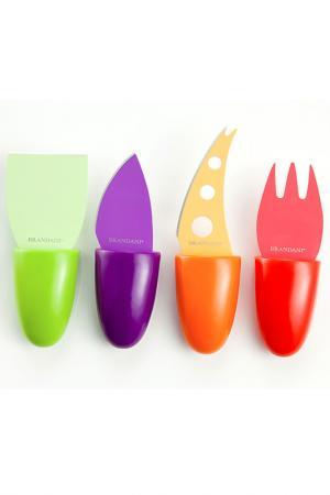 Набор ножей для сыра Brandani. Цвет: мультиколор