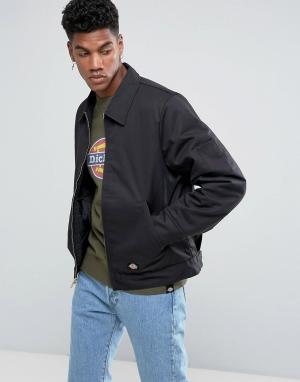 Dickies Куртка. Цвет: черный