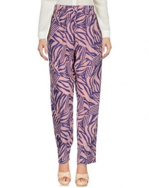 Повседневные брюки INTROPIA. Цвет: розовый