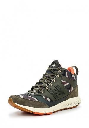 Кроссовки New Balance. Цвет: хаки