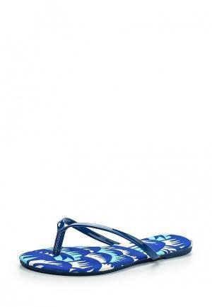 Шлепанцы Librapop. Цвет: синий