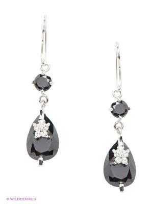 Серьги Lovely Jewelry. Цвет: черный