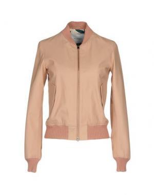 Куртка AGLINI. Цвет: телесный