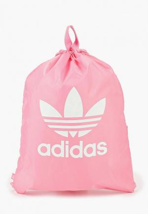 Мешок adidas Originals. Цвет: розовый