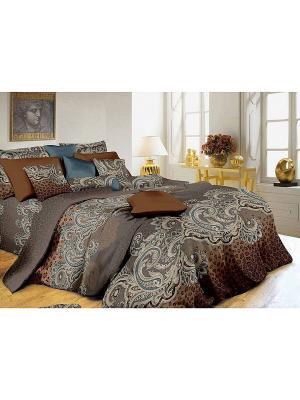 Комплект постельного белья, Эсмеральда, Семейный KAZANOV.A.. Цвет: серый