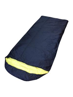 Мешок спальный lammin250 Campland. Цвет: синий, желтый