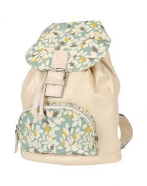 Рюкзаки и сумки на пояс PAQUETAGE. Цвет: слоновая кость