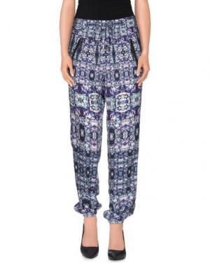Повседневные брюки CUSTO BARCELONA. Цвет: темно-фиолетовый