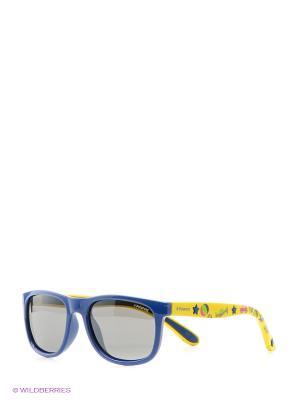Солнцезащитные очки Polaroid. Цвет: синий, желтый