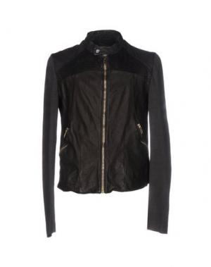 Куртка NICOLAS & MARK. Цвет: темно-коричневый